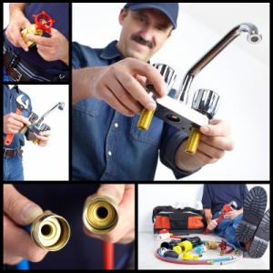 plumber in Los Gatos with miscellaneous equipment